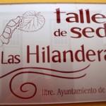 taller hilanderas museo seda paso cartel